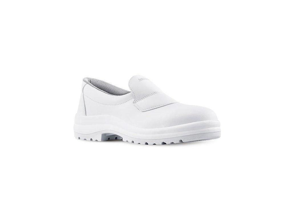 Biela pracovná obuv s kompozitnou špičkou od výrobcu ARTRA v modelovom prevedení ARGON 822 1010 S2 SRC