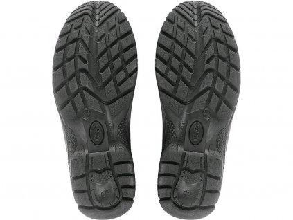 Členková zváračská pracovná obuv s oceľovou špicou BOND S3