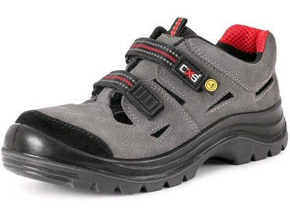 CXS ROCK ESD Gallia O1 pracovné sandále, šedé