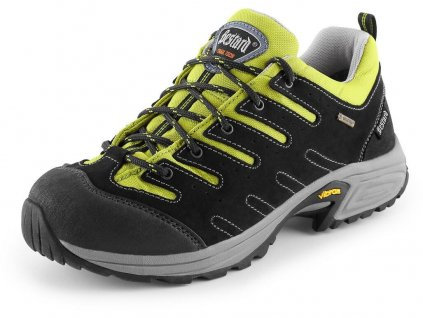 Bestard Cami trekingová obuv, čierno-žltá