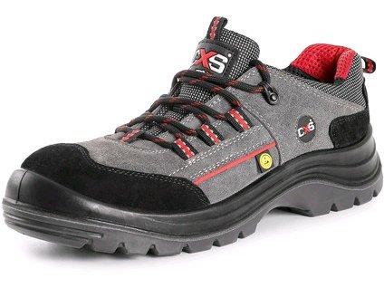 CXS ROCK ESD GRAPHITE S1P bezpečnostná obuv, sivá