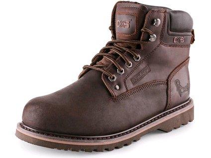 CXS ROAD GRAND členková voľnočasová obuv, hnedá