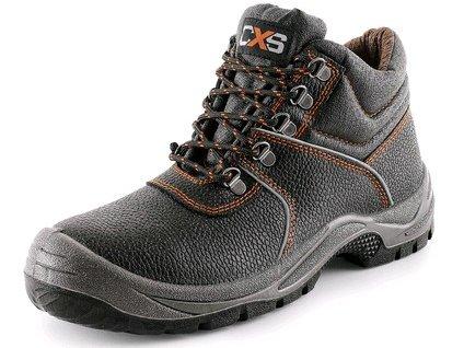 CXS STONE apatit O2 pracovná obuv, čierna