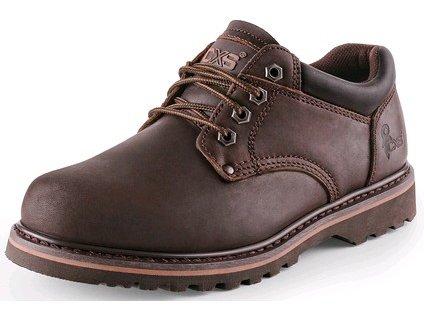 CXS ROAD MADISON obuv poltopánka, hnedá