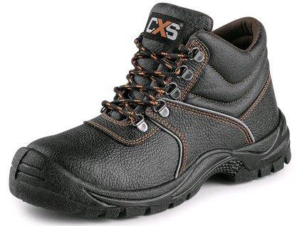 CXS STONE MARBLE S2 obuv členková, čierna