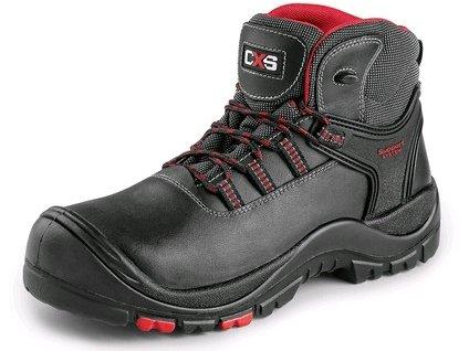 CXS ROCK GRANITE S3 obuv členková , čierna