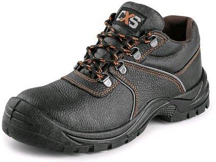 CXS STONE pyrit obuv poltopánka S2, čierna