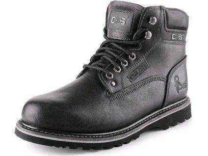 CXS ROAD CLARKE obuv členková, čierna