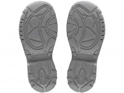 Kožená členková pracovná obuv CXS SAFETY STEEL MANGAN O2