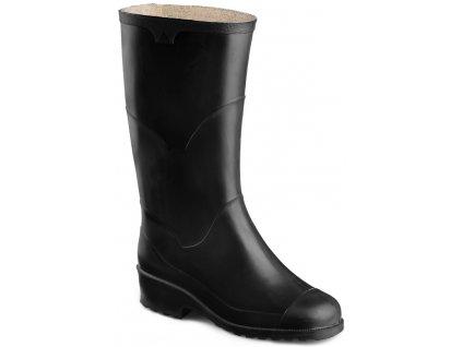 Čierne dámske gumáky ARTRA - 5110