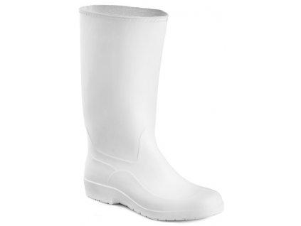Biele pracovné gumáky lisované ARTRA 8111  1