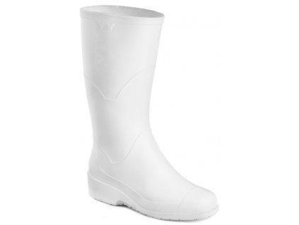 Biele dámske gumáky ARTRA  0161 - 1