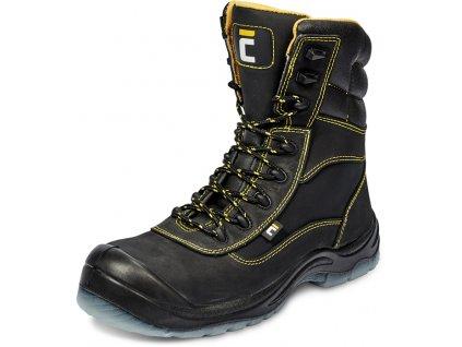 Vysoká zateplená bezpečnostná obuv BK TPU MF S3 CI SRC