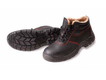 Zateplená bezpečnostná obuv s oceľovou špičkou SC-03-002 WINTER ANKLE S1