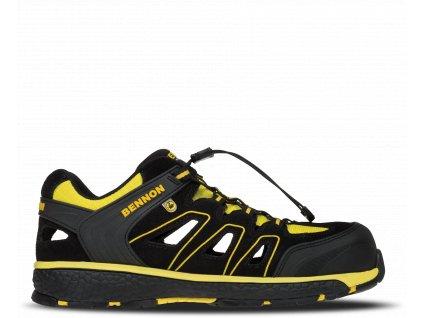 BNN BOMBIS S1 ESD NM Yellow Sandal