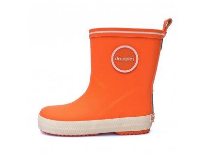 detské gumáčky oranžové