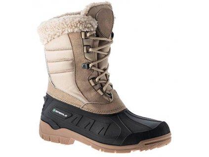vysoká zateplená obuv TINA