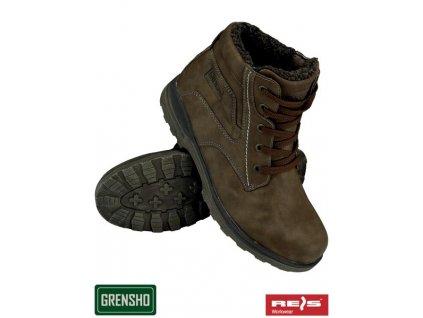 RW00 - BOGRIZZLY Zateplená členková obuv