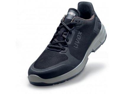 UVEX 6593 športová pracovná obuv čierna