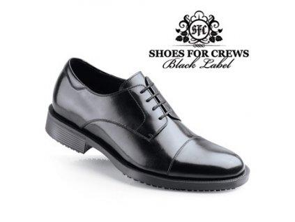 Štýlová pracovná obuv pre manažérov a hotelový personál SFC Senator - 1201
