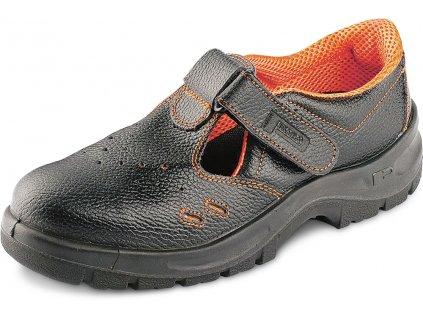 bezpečnostne sandále s oceľovou špičkou PANDA