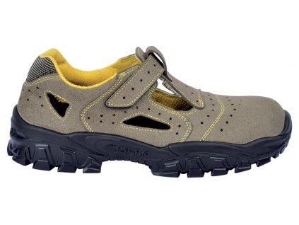 Pracovné sandále s ochrannou špičkou COFRA NEW BRENTA S1 P SRC : TALIANSKÁ VÝROBA