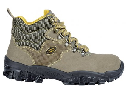 Bezpečnostná členková obuv s oceľovou špičkou COFRA NEW TEVERE S1 P SRC : TALIANSKÁ VÝROBA