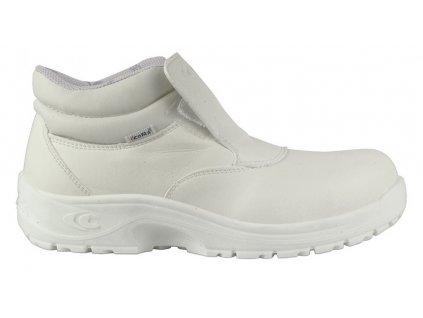 Biela pracovná obuv S2