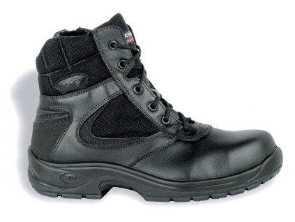 Bezpečnostná policajná obuv POLICE S3 HRO SRC