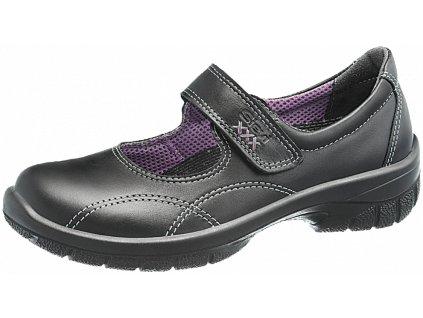 Dámska kožená pracovná ESD obuv  BALLERINA