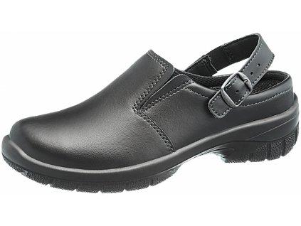 Dámska kožená pracovná obuv  MONICA BLACK