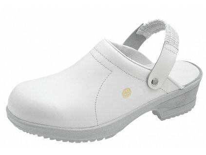 Biele dámske ESD sandále  FILE WHITE