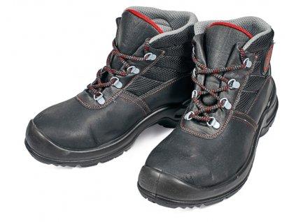 Bezpečnostná obuv s kovovou špičkou STRONG PROFESSIONAL IZETT ANKLE S1P SRC