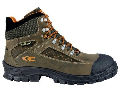 Bezpečnostná goretexová členková obuv so spevnenou špičkou COFRA FROSTI S3 WR SRC : Talianska výroba