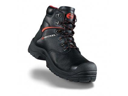 Vyššia členková bezpečnostná obuv so špičkou HECKEL MACSOLE EXTREM 2,0 - MACSILVER  6265000