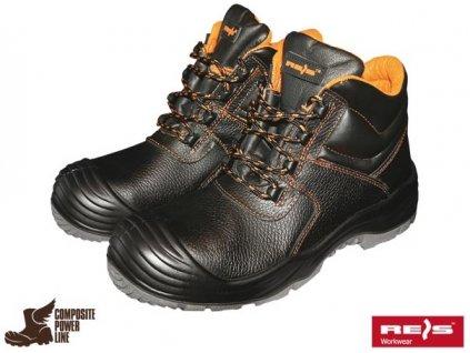 RW00 - BCR Bezpečnostná členková obuv