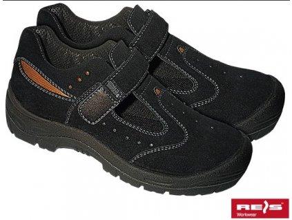 Sandály pracovné značky REIS : EVERE