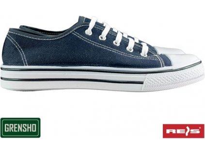 Trampky rekreačné značky Grensho BTRAMPER jeans d890963de96