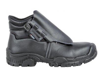 Pracovná obuv pre zváračov s odľahčenou kompozitnou špičkou a planžetou proti prierazu COFRA BLEND S3 SRC : TALIANSKÁ VÝROBA
