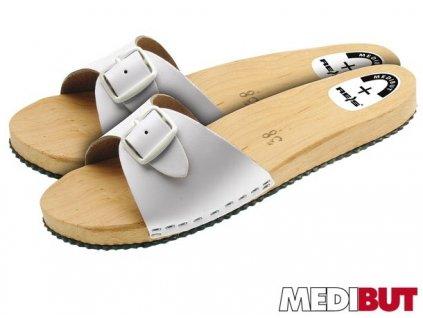 Pracovná obuv biela MEDIBUT :  BMKLAPL
