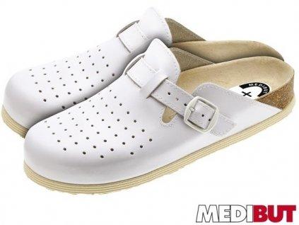 Pracovná obuv biela značky MEDIBUT : BMKLAKORDZ