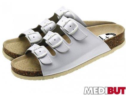 Pracovná obuv biela MEDIBUT :  BMKLAKOR3PAS
