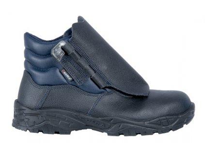 Pracovná obuv pre zváračov s odľahčenou kompozitnou špičkou a planžetou proti prierazu COFRA TORCH S3 SRC : TALIANSKÁ VÝROBA