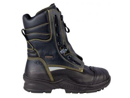 Bezpečnostná vysoká obuv výrobcu COFRA v modele SPRINKLER  F2A CI HI3 SRC