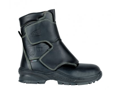 Vysoká zváračská bezpečnostná obuv s odľahčenou kompozitnou špičkou a planžetou proti prierazu COFRA FUSION S3 HI HRO FE AL HI1 SRC : TALIANSKÁ VÝROBA