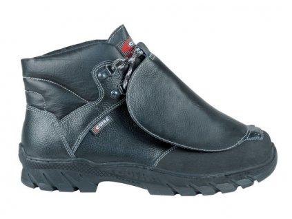 Profesionálna zváračská bezpečnostná obuv s odľahčenou kompozitnou špičkou a planžetou proti prierazu COFRA SEIKAN S3 M HI CI HRO SRC : TALIANSKÁ VÝROBA