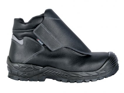 Bezpečnostná zváračská obuv z vodoodpudivej kože s odľahčenou kompozitnou špičkou a planžetou proti prierazu COFRA FUSE S3 HRO SRC : TALIANSKÁ VÝROBA