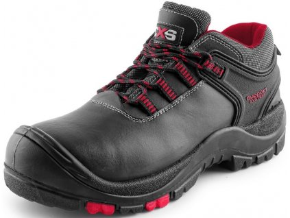 Bezpečnostná obuv s plastovou špičkou CXS ROCK ORE S3 v čiernej farbe