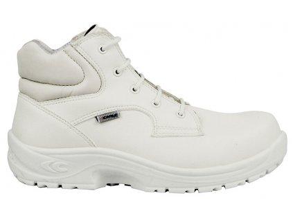 Biela pracovná obuv CALIGOLA