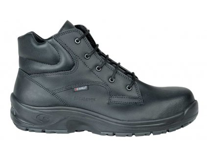 čierna bezpečnostná obuv s plastovou špičkou CALIGOLA BLACK S2 SRC